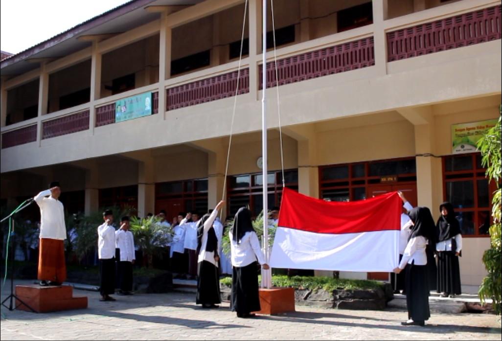 Upacara Peringatan Hari Santri Nasional