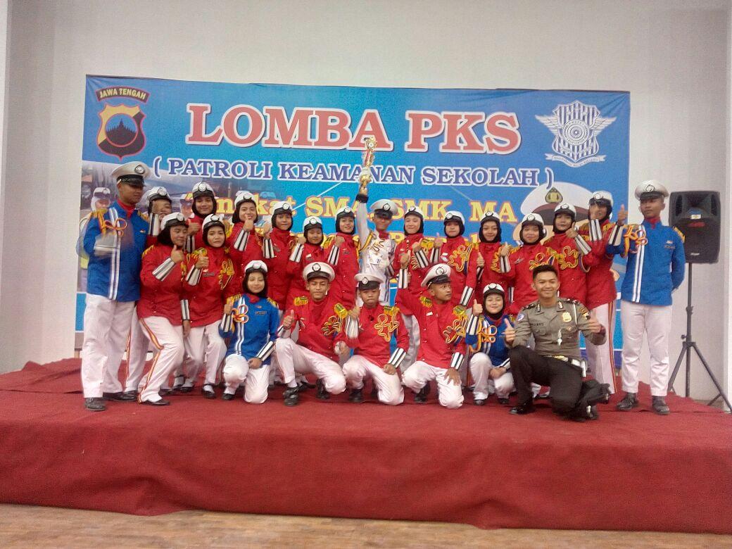 Juara Harapan 2 Lomba PKS Tingkat SMA/SMK/MA Se-Kab Boyolali